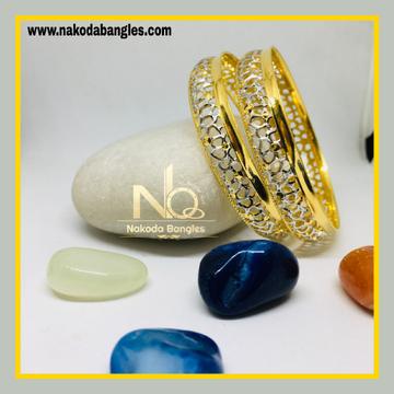 916 Gold CNC Bangles NB - 1275