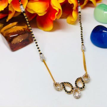 916 Gold Antique Mangalsutra ms-0006