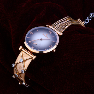 18KT Rose Gold Classic  Hallmark  Watch RLW129