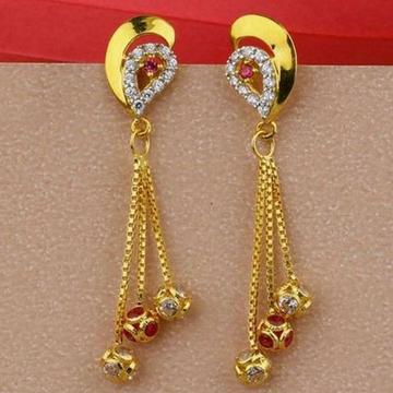 22KT/ 916 Gold fancy festival hanging earrings for... by