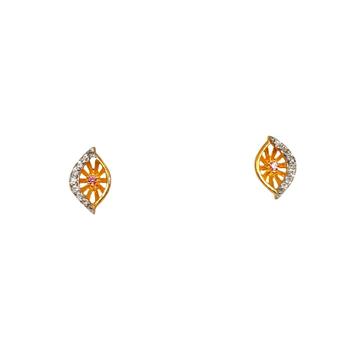 22K Gold Fancy Earrings MGA - BTG0487