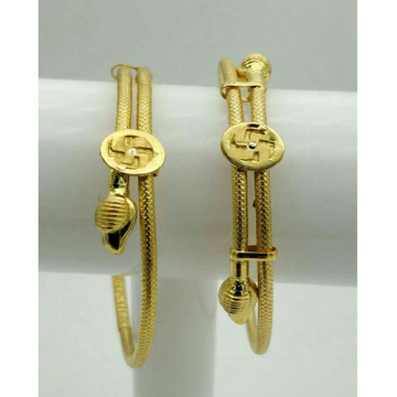 22kt/916 Fancy Gold Kids Kada