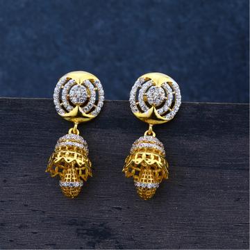 Ladies Jummar Earrings Traditional 916-LJE66