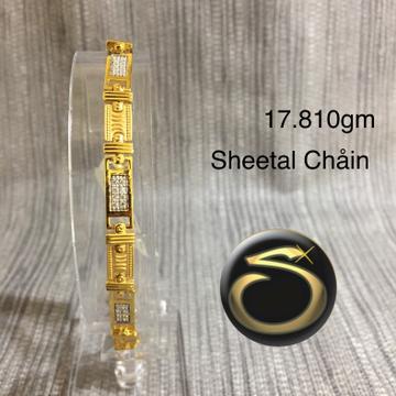 22KT Gold Bracelet SC-QU3067