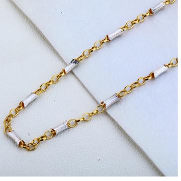 22ct Gold Designer  Mens Choco Chain MCH187