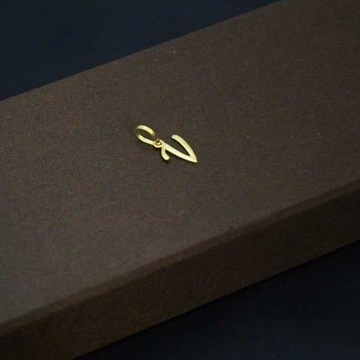 22 K Gold Handmade Pendant. nj-p01219