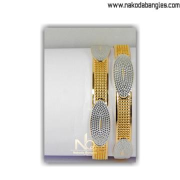916 Gold CNC Bangles NB - 1401