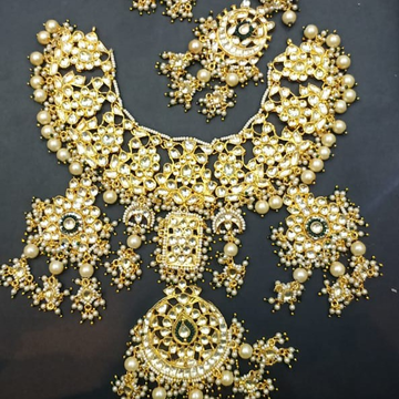 bridal necklace#bdns124
