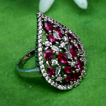 925 Silver Color Stone Ring For Women PJ-R023