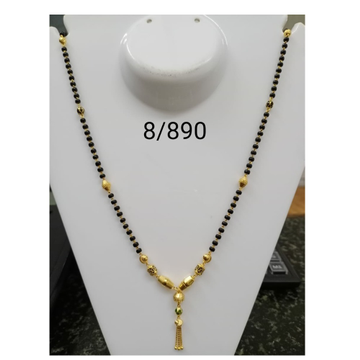 916 Gold Daliy Wear Dokiya Mangalsutra RH-MS12