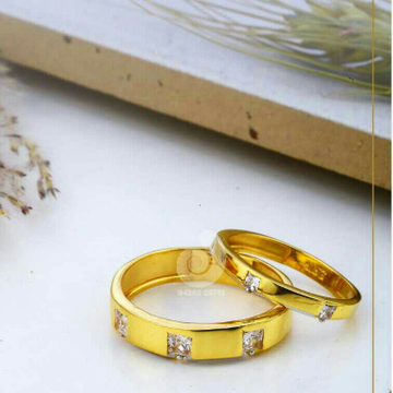 22ct Cz Fancy Couple Ring