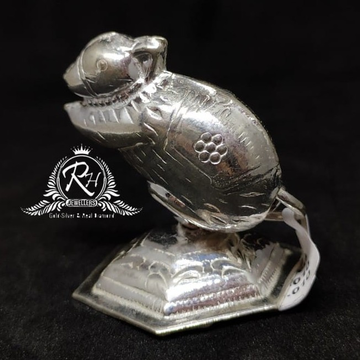 silver mouse for ganesh statue rh-mt964