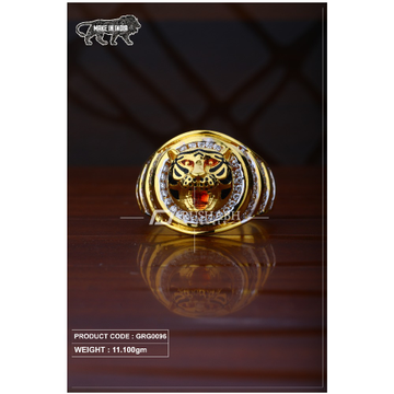 22 Carat 916 Gold Gents heavy ring grg0096