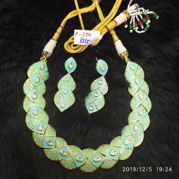 mint green necklace set # 184