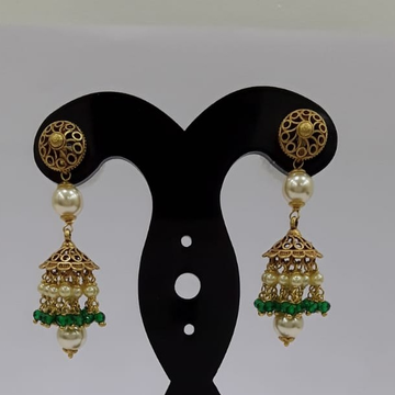 22Kt Yellow Gold Ziel Earrings For Women