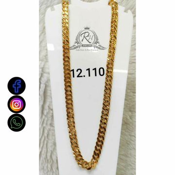 22 Carat Gold Traditional Gents Chain RH-CH766