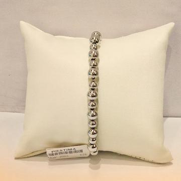 Sterling Silver Ball Bracelet For Women by Pratima Jewellers