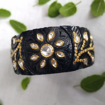 92 Gold Plastic bangle Antique  by