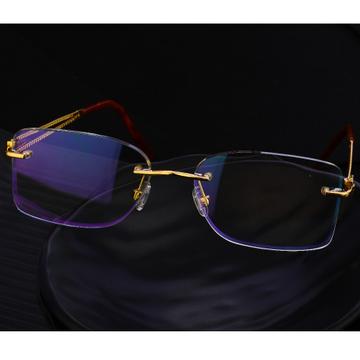750 Gold Hallmark Stylish Men's Spectacle S24