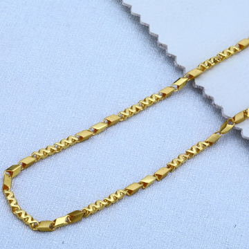 Mens 916 Gold Chain-MCH22