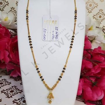 916 GOLD FANCY MANGALSUTRA by