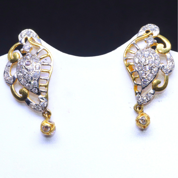 22KT / 916 Gold dailyware earrings for Women BTG0154