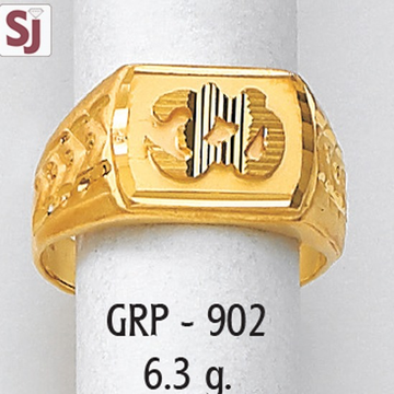 Om Gents Ring Plain GRP-902
