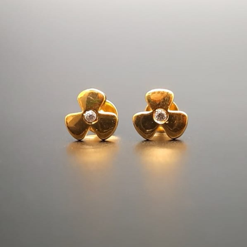 18 ct gold tops for floer shape