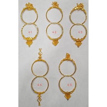 18 carat gold ladies earrings RH-LE914