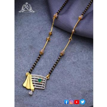 22 carat gold ladies manglasutra RH-MN582