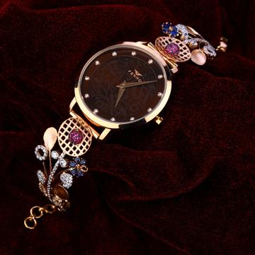 18kt Rose Gold Stylish Women's Watch RLW158