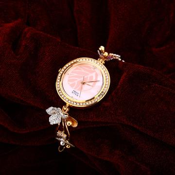 Ladies Rose Gold 18K Watch-RLW15