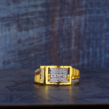916 Gold cz ring MR464