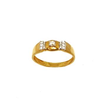22K Gold Modern Ring MGA - LRG0345