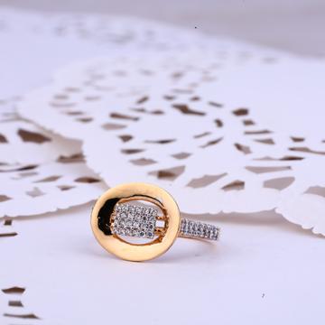 Ladies 18K Rose Gold Fancy Ring-RLR335