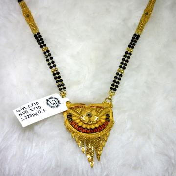 Gold classic semi culcutti mangalsutra