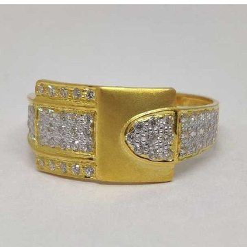 916 Gents Fancy Gold Ring Gr-28618