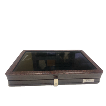 Jewellery brown li-Z stock box t/p