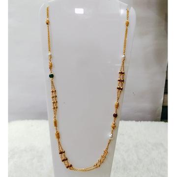 22 carat gold traditional ladies mala rh-LM824