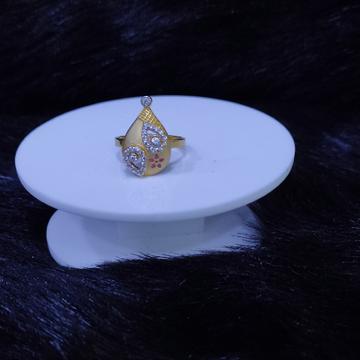 22KT/916 Yellow Gold Belita Ring For Women