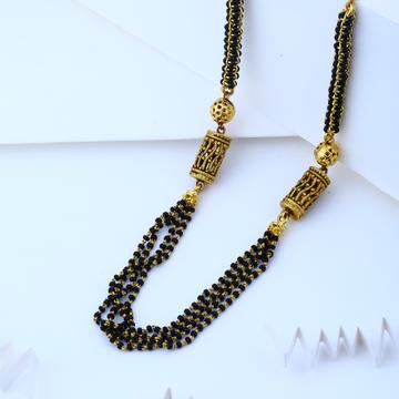 22KT Hallmark Gold Short Design Mangalsutra