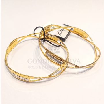 20kt gold bangle gbg59