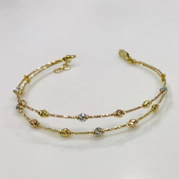22KT Yellow Gold Kirstine Brecelet For Women