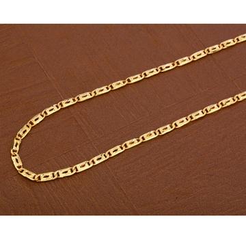 916 Gold Stylish Men's Nawabi  Chain  MNC38