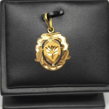 18Kt gold fancy pendant dj-p003 by