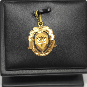 18Kt gold fancy pendant dj-p003