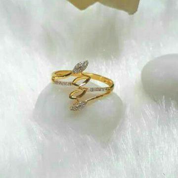 22Kt Gold CZ Ladies Ring