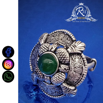 silver ladies classical rings RH-LR564