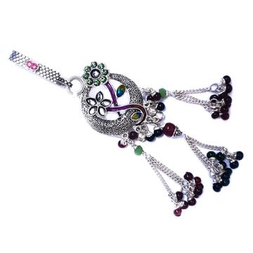 Stylish flower designer silver juda mga - jus0017