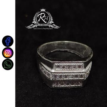 silver fancy gents rings RH-GR401